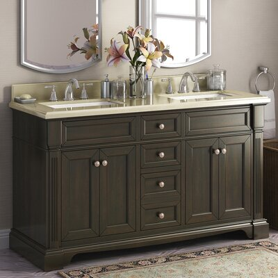 Bryon 60 Double Bathroom Vanity Set