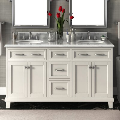 Carolina 60 Double Bathroom Vanity Set