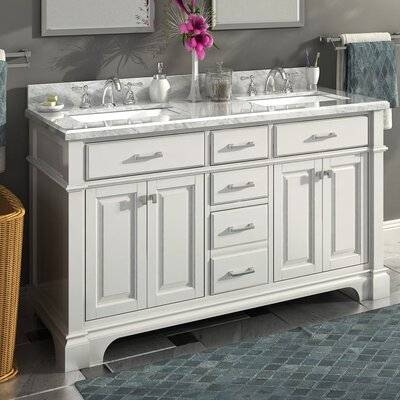 Nova 60 Double Sink Bathroom Vanity Set