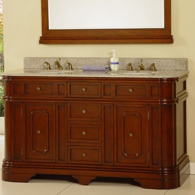 60 Double Bathroom Vanity Set