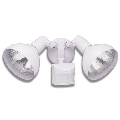 240 Degree Motion Activated 2-Light Security Light