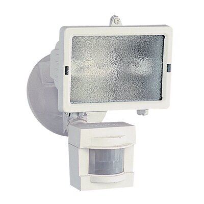 110 Degree Motion Activated 1-Light Security Light
