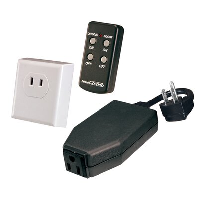 Basic Solutions Wireless Remote Kit with Indoor and Outdoor Plug-In Devices