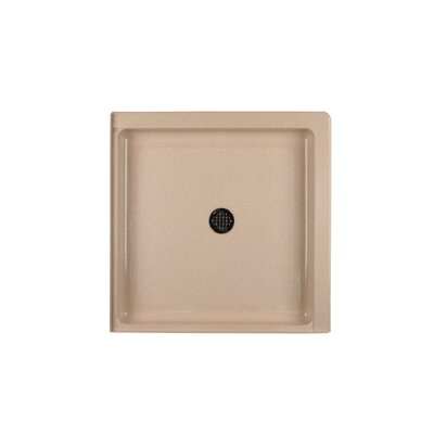SWANSTONE Double Threshold Square Shower Base - Finish: Tahiti Sand at Sears.com