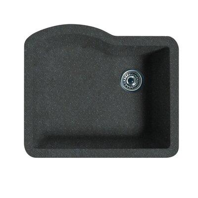 24 x 21 Undermount Kitchen Sink Finish: Nero