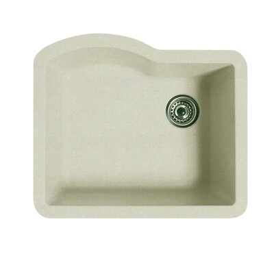 24 x 21 Undermount Kitchen Sink Finish: Granito