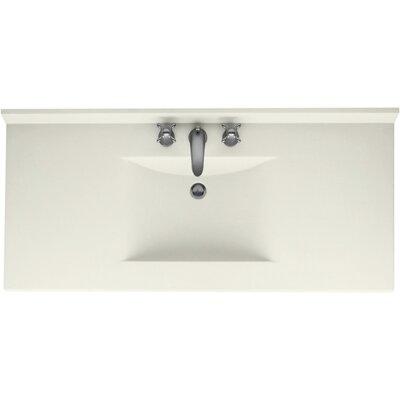 Swanstones Metropolitan 49 Single Bathroom Vanity Top Top Finish: Bisque