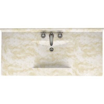 Contour 43 Single Bathroom Vanity Top