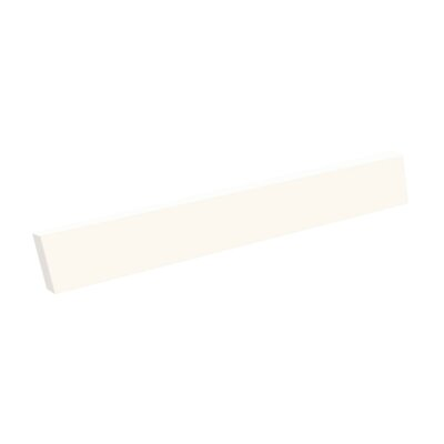 22 Sidesplash for Contour or Ellipse Vanity Tops Finish: White