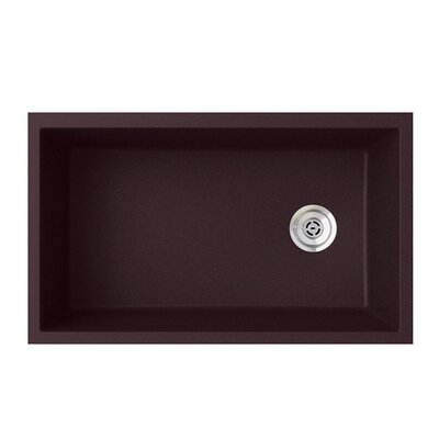 19.25 x 31.88 Undermount Kitchen Sink Finish: Espresso