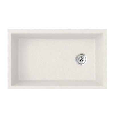19.25 x 31.88 Undermount Kitchen Sink Finish: Bianca