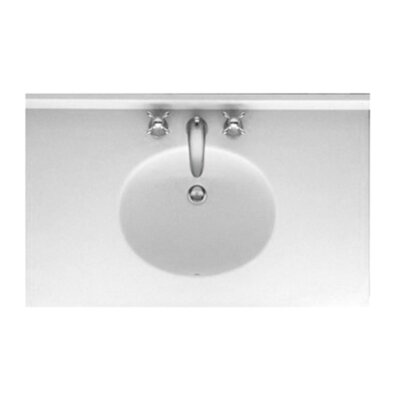 Ellipse 49 Single Bathroom Vanity Top