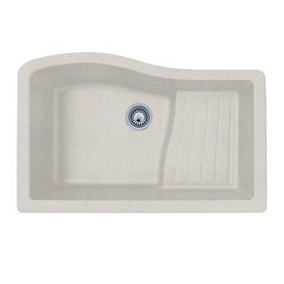 32 x 21 Undermount Kitchen Sink Finish: Granito