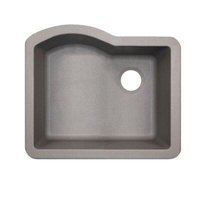 24 x 21 Undermount Kitchen Sink Finish: Gray