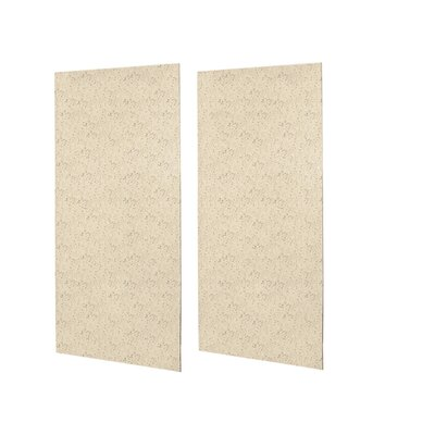 SWANSTONE Classics Solid Surface Double Panel Shower Walls - Finish: Tahiti Sand at Sears.com