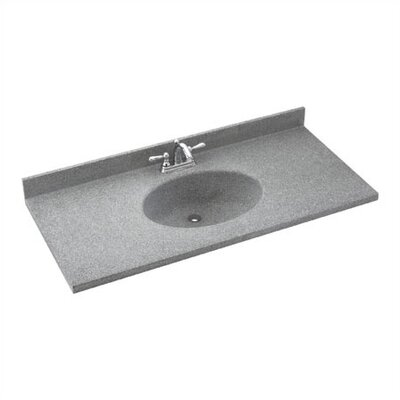 "SWANSTONE Classics Chesapeake 61"" Double Bowl Vanity Top - Finish: Bermuda Sand at Sears.com"