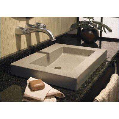Metropolitan Palladio Above Counter Bathroom Sink Sink Finish: Baby's Breath