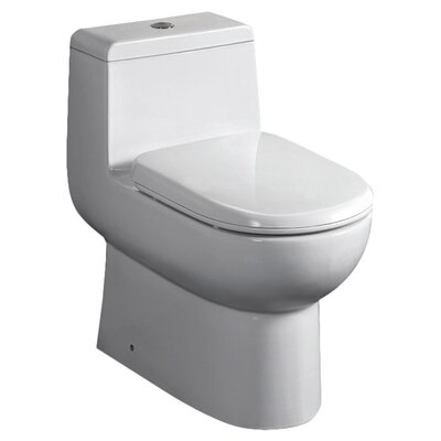 Antila Dual Flush Elongated One-Piece Toilet