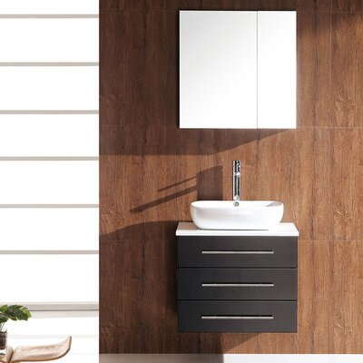 Stella 24 Single Modella Modern Bathroom Vanity Set with Mirror