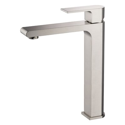 Allaro Single Handle Single Hole Vessel Faucet
