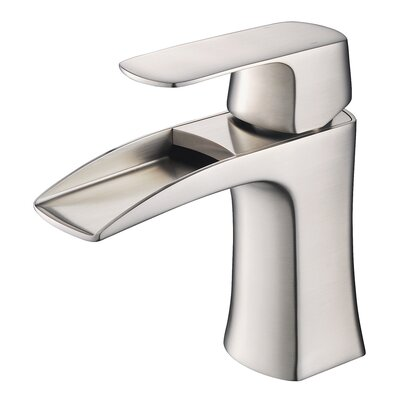 Fortore Single Handle Single Hole Waterfall Faucet