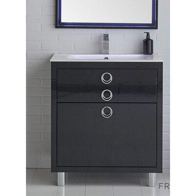 Platinum 32 Due Single Bathroom Vanity Set Base Finish: Glossy Cobalt