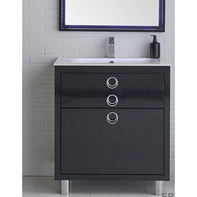 Platinum 36 Due Single Bathroom Vanity Set Base Finish: Cobalt