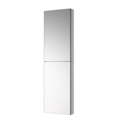 Tall Bathroom 15 x 52 Recessed or Surface Mount Medicine Cabinet