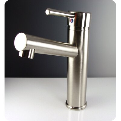Savio Single Hole Mount Bathroom Faucet in Brushed Nickel