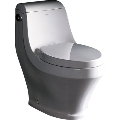 Volna Contemporary 1.6 GPF Elongated Toilet