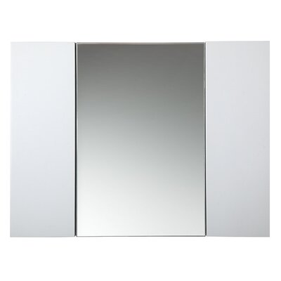 Modello 32 x 24 Recessed Medicine Cabinet Finish: White