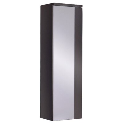 Caro Wood Mirrored 12 x 40 Surface Mount Medicine Cabinet Finish: Espresso