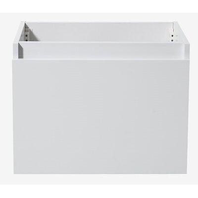 Nano 23 Single Bathroom Vanity Base Base Finish: White
