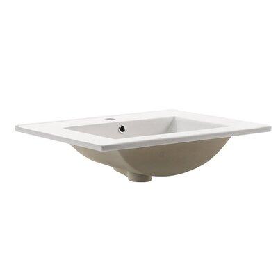 Amato Self Rimming Bathroom Sink
