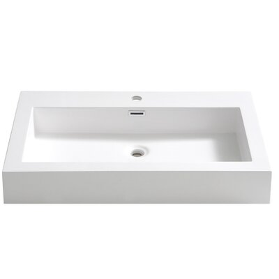Livello Self Rimming Bathroom Sink