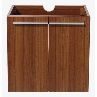 Alto 23 Single Bathroom Vanity Base Base Finish: Teak