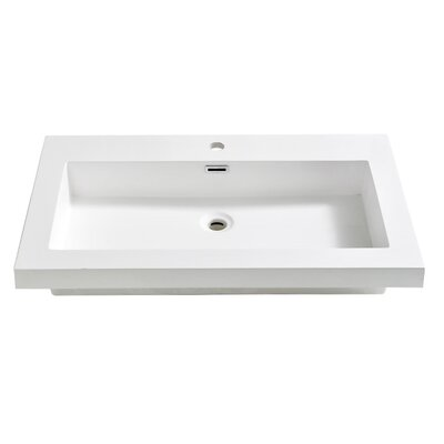 Medio Self Rimming Bathroom Sink