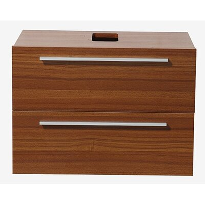 Medio 31 Single Bathroom Vanity Base Base Finish: Teak