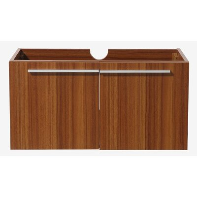 Vista 35 Single Bathroom Vanity Base Base Finish: Teak