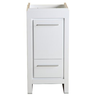 Allier 16 Single Bathroom Vanity Base Base Finish: White
