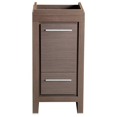 Allier 16 Single Bathroom Vanity Base Base Finish: Gray Oak