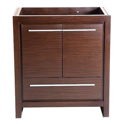 Allier 30 Single Bathroom Vanity Base Base Finish: Wenge Brown