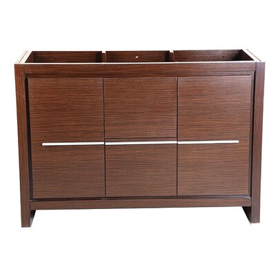 Allier 48 Single Bathroom Vanity Base Base Finish: Wenge Brown