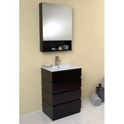 Stella 24 Single Amato Modern Bathroom Vanity Set with Mirror