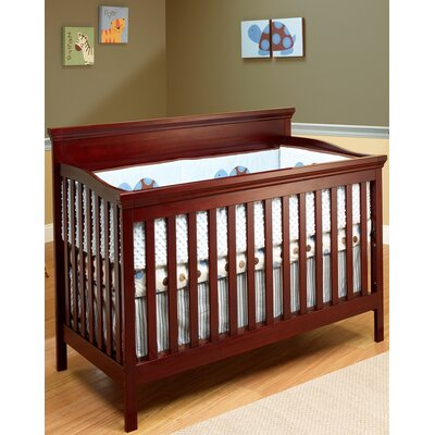 Katherine Convertible Crib Finish: Merlot 325-M