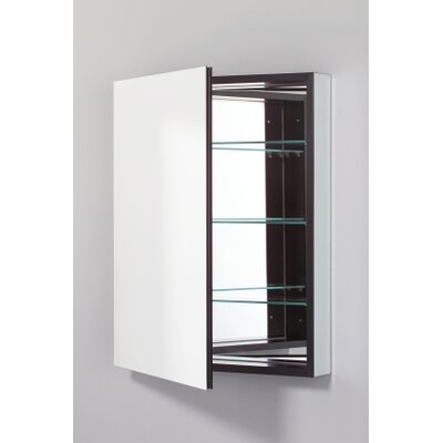 PL Series 23.25 x 30 Surface Mount Medicine Cabinet Finish: Black, Orientation: Left
