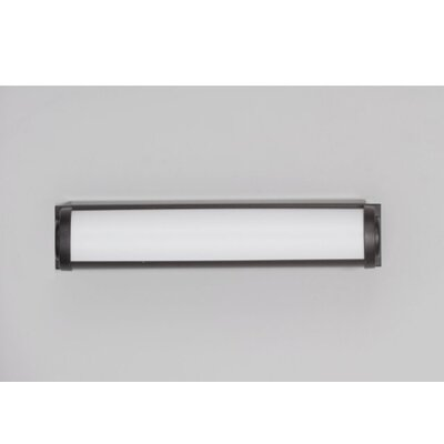M Series 16 x 3 Recessed or Surface Mount Medicine Cabinet with Lighting Finish: Black