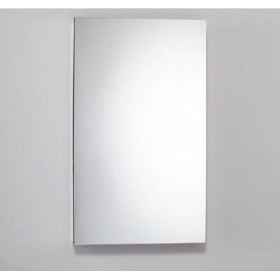 23.25 x 39.375 Recessed Medicine Cabinet with Lighting Orientation: Left