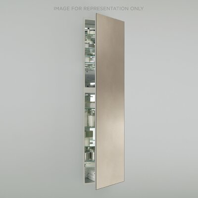 M Series 19.25 x 70 Recessed Medicine Cabinet Orientation: Right Hand, Finish: Satin Bronze