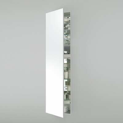 M Series 19.25 x 70 Recessed Medicine Cabinet Orientation: Right Hand, Finish: White